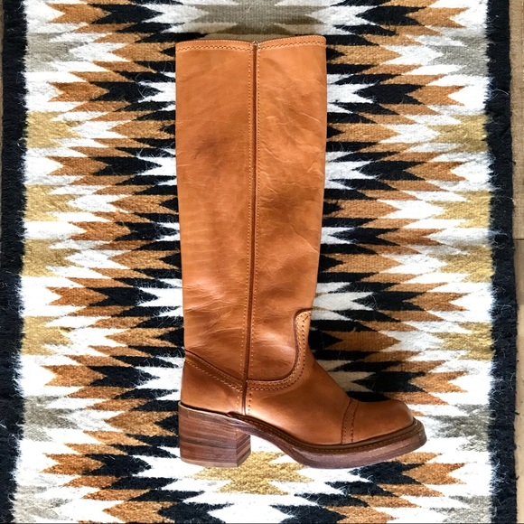 12231b72478f0 Vintage 1970s Bort Carleton Campus Boots Sz 5.5-6